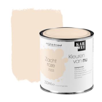 KARWEI Kleuren van Nu lak zijdeglans zachtroze 250ml