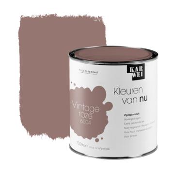 KARWEI Kleuren van Nu lak zijdeglans vintage roze 750ml