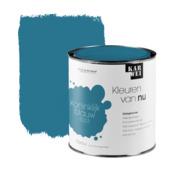 KARWEI Kleuren van Nu lak zijdeglans koninklijk blauw 750ml