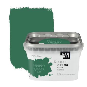 KARWEI Kleuren van Nu muurverf mat flessengroen 2,5l