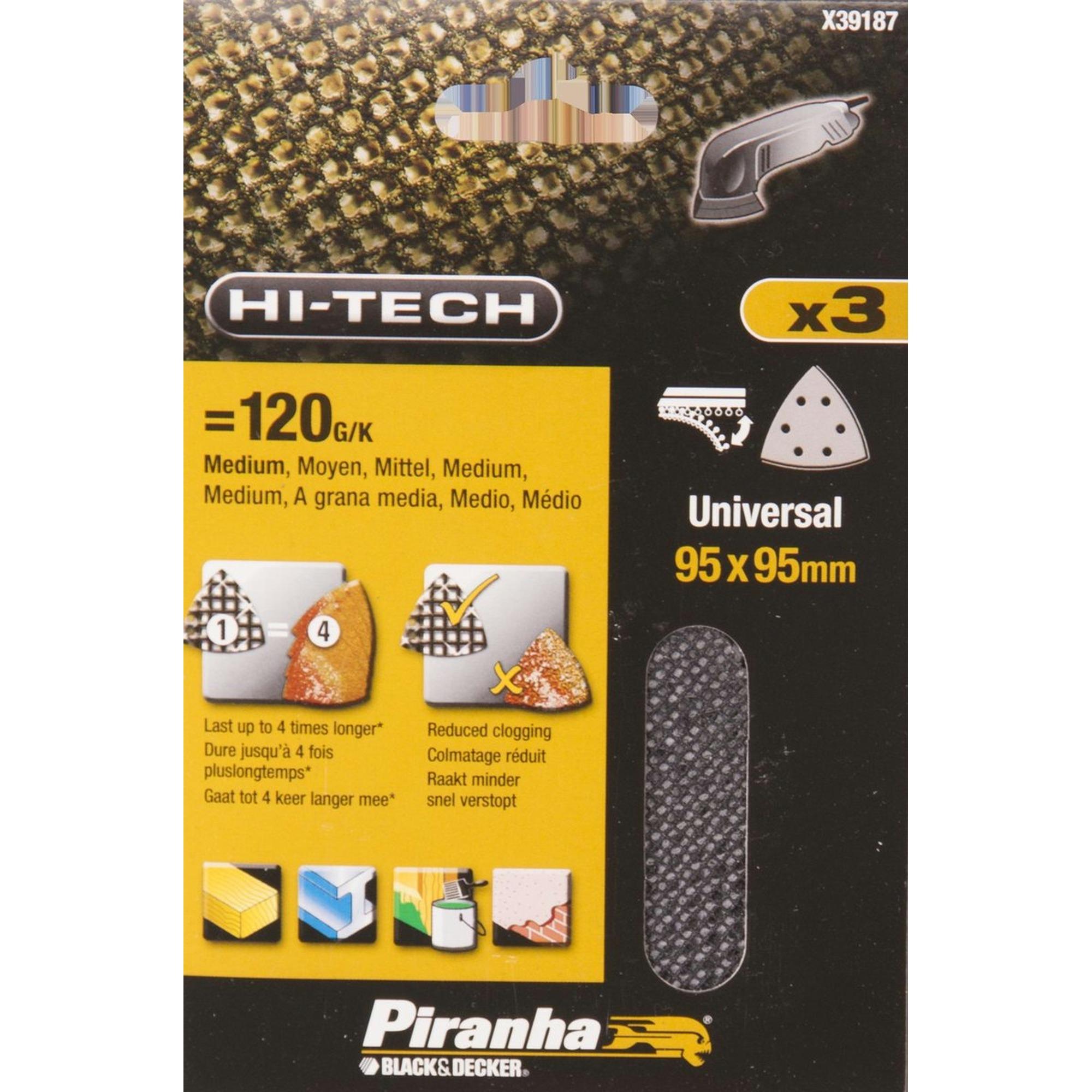 Piranha Schuurgaas K120 Driehoek