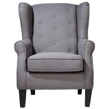 Beste WOOOD fauteuil Willeke grijs kopen? | KARWEI KQ-87