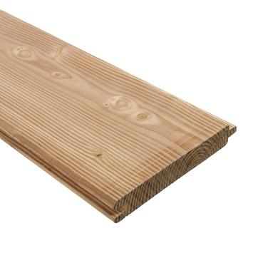 Blokhutprofiel Douglas ca. 2,8x19,5 cm, lengte 240 cm