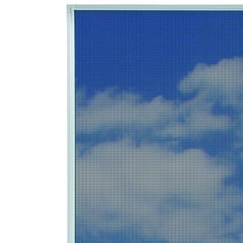 Bruynzeel inzethor raam  s500 pollengaas 100x150 cm wit