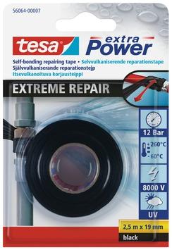 Tesa extra power extreme repair 2,5mx19mm zwart