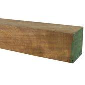 Tuinpaal hardhout 6,0x6,0x140 cm