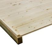 Houten vloer voor tuinhuis Roos300/Aster300/Narcis300