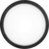 Eglo plafonnière Planet zwart/glas