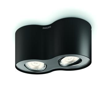 Philips spotlamp Phase zwart
