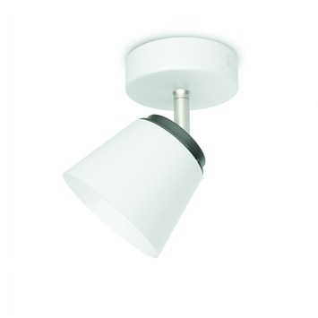 Philips wandspot Dender wit - Incl 1X LED 4W