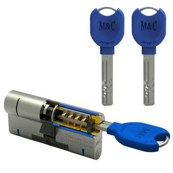 M&C veiligheidscilinder 32/32 mm SKG 3-sterren