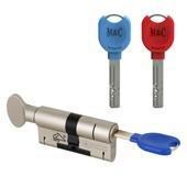 M&C knopcilinder met kerntrekbeveiliging SKG3 32/32