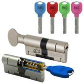 M&C cilinderset gelijksluitend met kerntrekbeveiliging SKG3 32/32 (2 stuks)