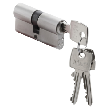 M&C veiligheidscilinder 32/32 mm SKG 2-sterren