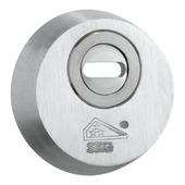 M&C veiligheidsrozet rond met kerntrekbeveiliging SKG 3-sterren aluminium F9