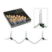 Kerstverlichting kaarsen - 30 lampjes