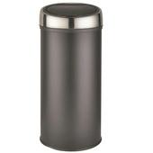 Prullenbak Push Can 30 Liter Mat Zwart