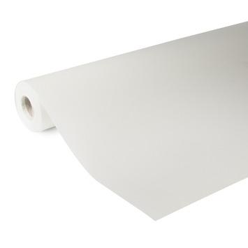 OK glasweefselbehang standaard ruit fijn wit 140 gram - 25 m (dessin GW100-25)
