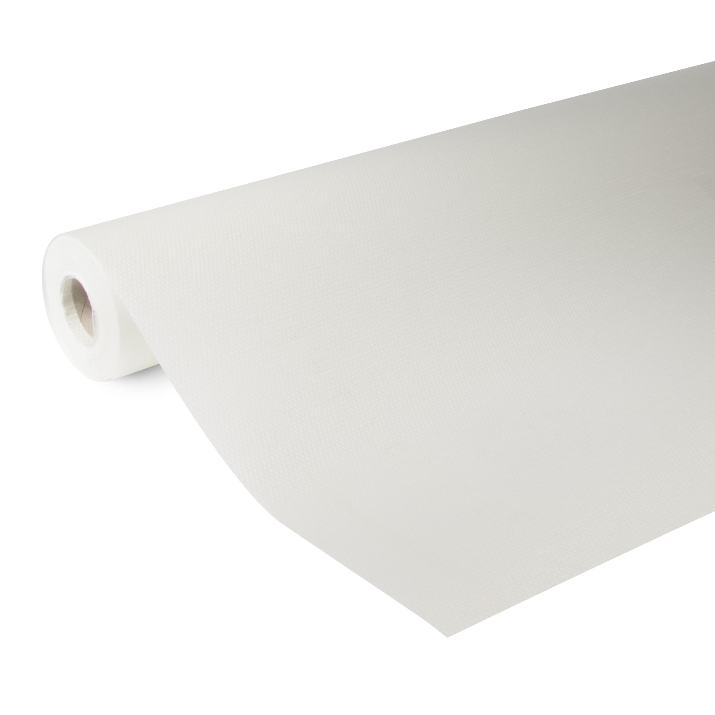 Glasweefselbehang ruit fijn standaard wit 25 m (dessin GW100-25)