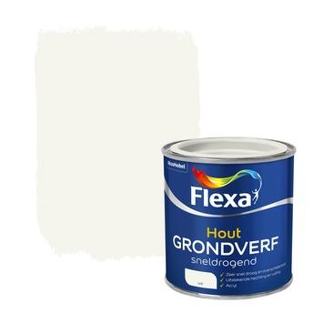 Flexa hout grondverf sneldrogend wit 250 ml