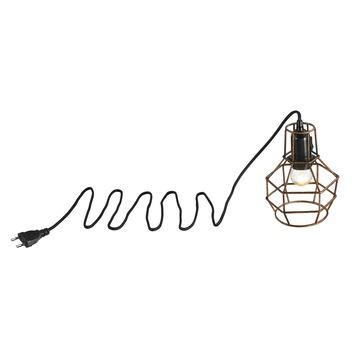 KARWEI Hanglamp Asha koperkleurig staal