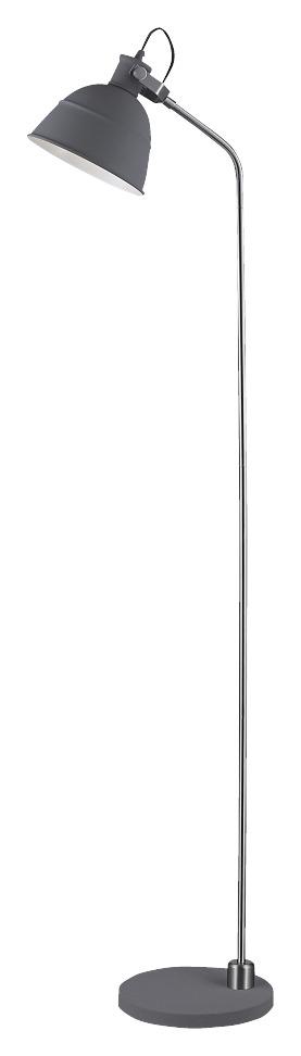 KARWEI vloerlamp Tygo grijs