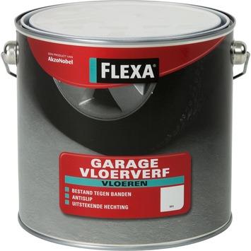 Flexa Vloeren garage betonverf wit 2,5 l