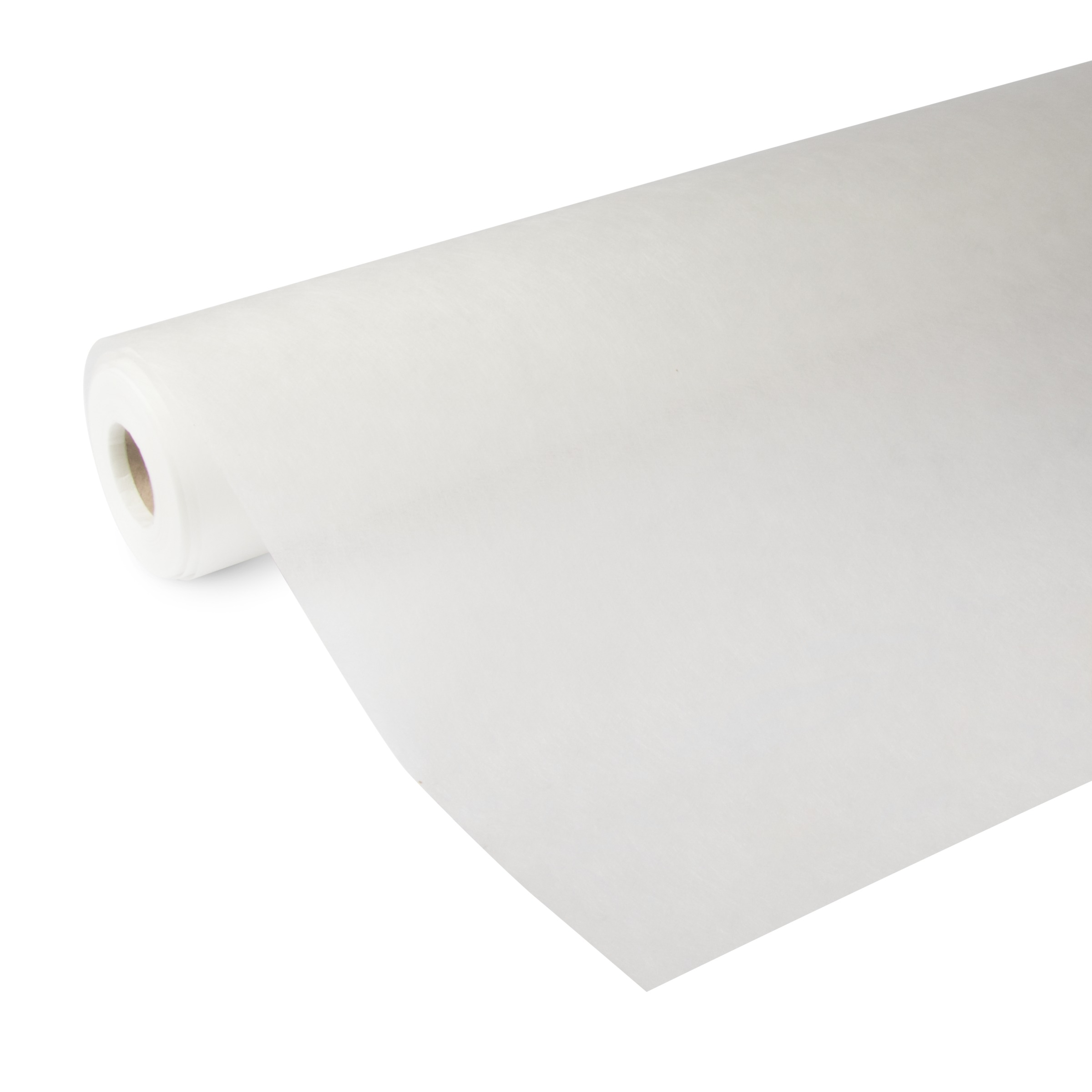 Glasweefselsbehang ruit midden voorgeschilderd wit 25 m (dessin GW402-25)