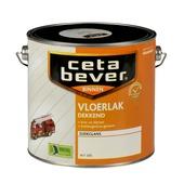 CetaBever vloerlak zijdeglans wit dekkend 2,5 l