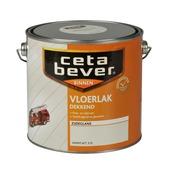 CetaBever vloerlak zijdeglans warm wit dekkend 2,5 l