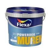 Flexa Powerdek muurverf mat stralend wit 5 l