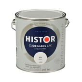 Histor Perfect Finish lak zijdeglans wit 2,5 l