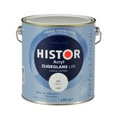 Histor Perfect Finish lak waterbasis zijdeglans wit 2,5 l