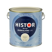 Histor Perfect Finish lak waterbasis zijdeglans katoen 2,5 l