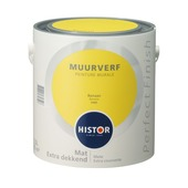 Histor Perfect Finish muurverf mat banaan 2,5 l