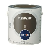 Histor Perfect Finish muurverf mat cacao 2,5 l