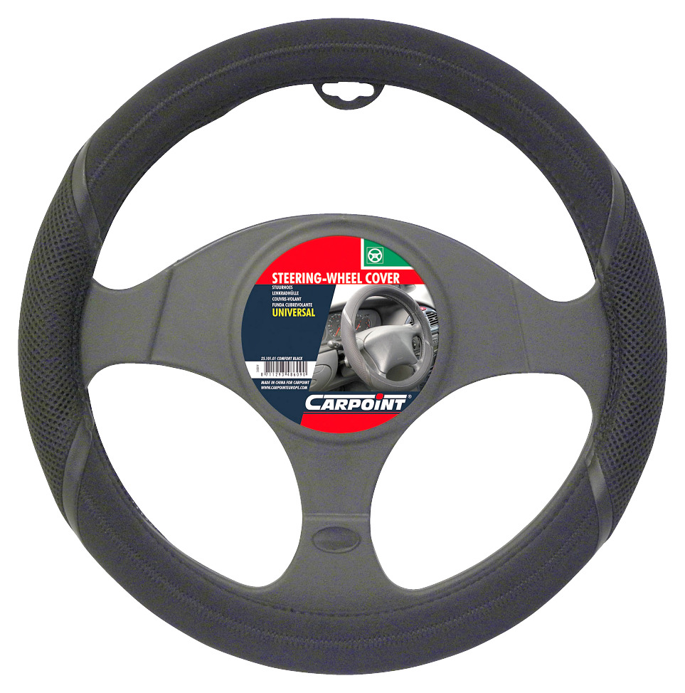 Carpoint Stuurhoes Comfort zwart
