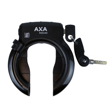Axa frameslot Defender Art** zwart