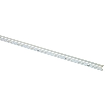 Handson rail enkel gegalvaniseerd metaal 200 cm (2 stuks)