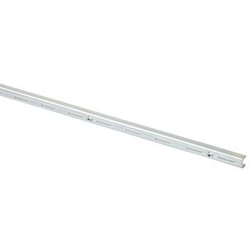 Handson rail enkel gegalvaniseerd metaal 150 cm (2 stuks)