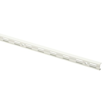 Handson rail dubbel wit 150 cm (2 stuks)
