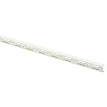 Handson rail dubbel wit 200 cm (2 stuks)