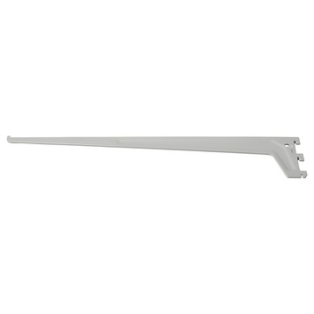 Handson plankdrager enkel mat zilver 35 cm