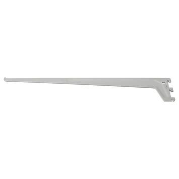 Handson plankdrager enkel mat zilver 50 cm