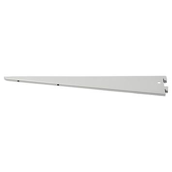 Handson plankdrager dubbel mat zilver 22 cm