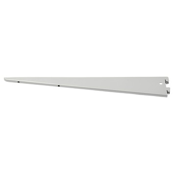 Handson plankdrager dubbel mat zilver 27 cm