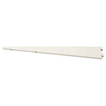 Handson plankdrager dubbel wit 37 cm