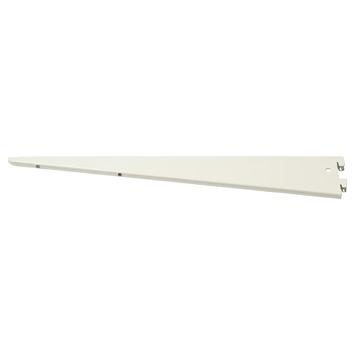 Handson plankdrager dubbel wit 47 cm