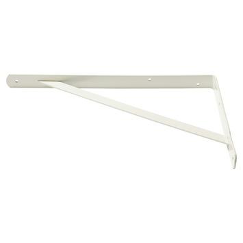 Handson plankdrager industrieel gegalvaniseerd staal wit 25x40 cm