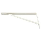 Handson plankdrager industrieel gegalvaniseerd staal wit 33x50 cm